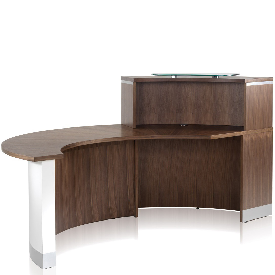 crescent reception desk range hsi office furniture new. Black Bedroom Furniture Sets. Home Design Ideas
