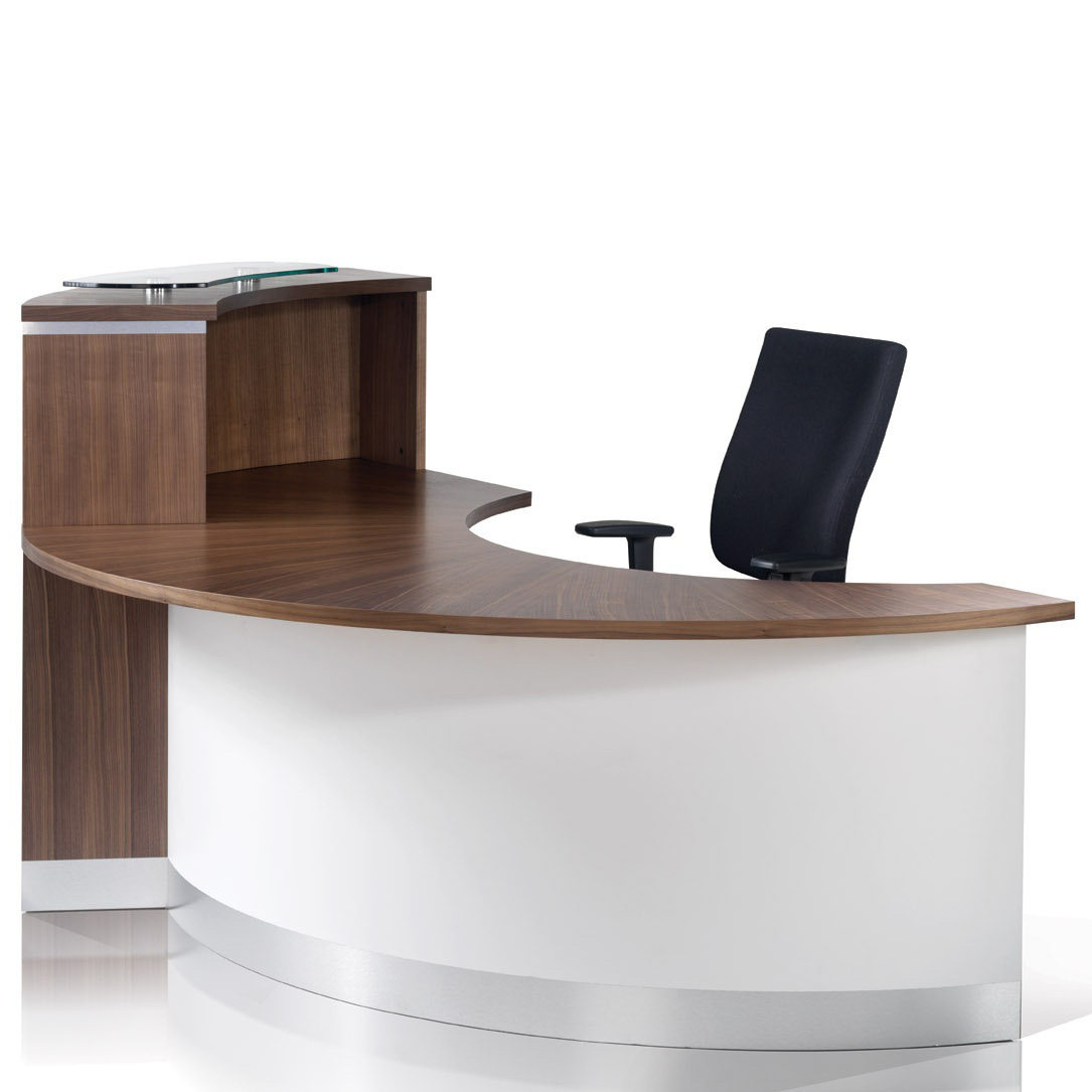 Crescent reception desk range hsi office furniture new for C furniture new lynn