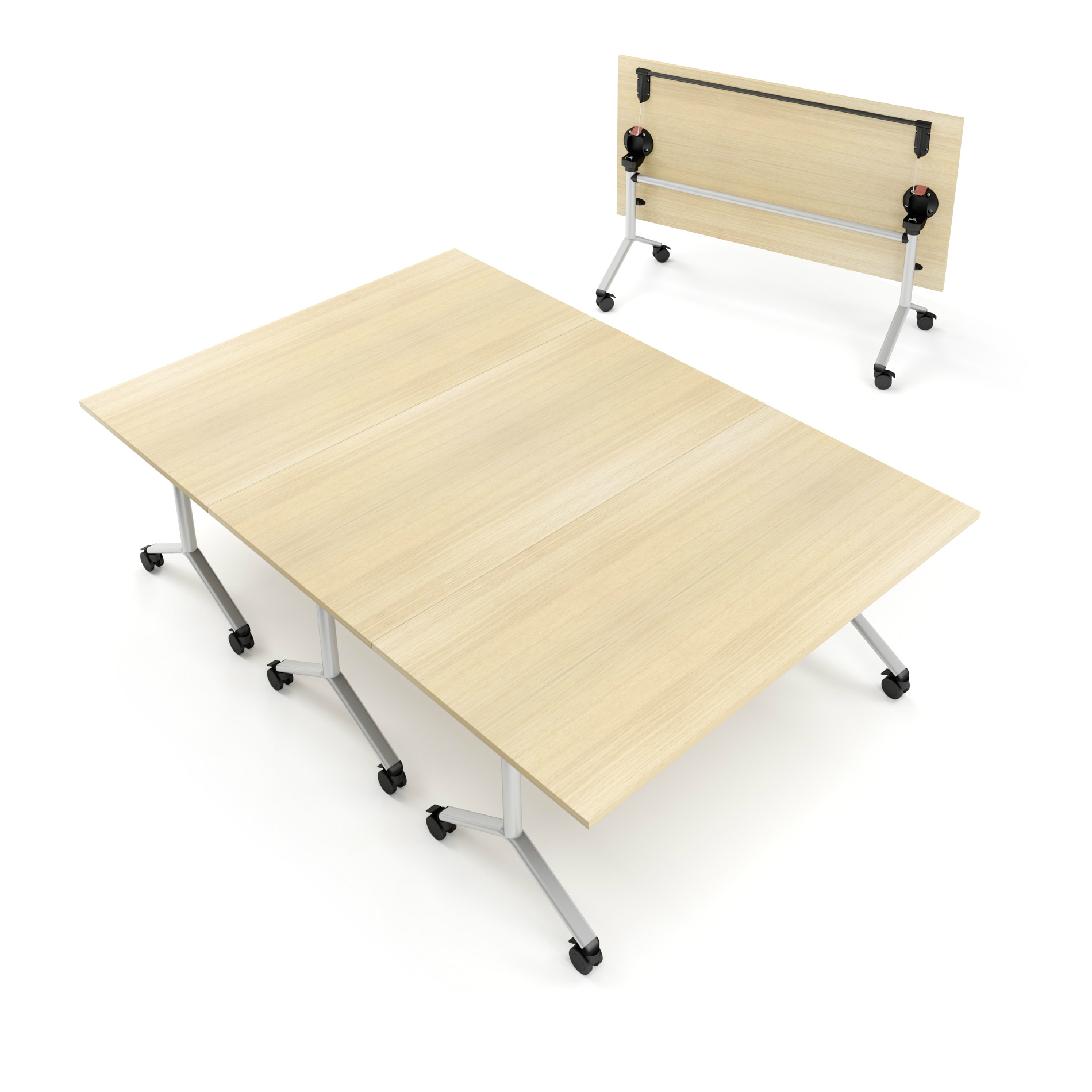 Flip Top Modular Table Hsi Office Furniture New Office Furniture And Renovation