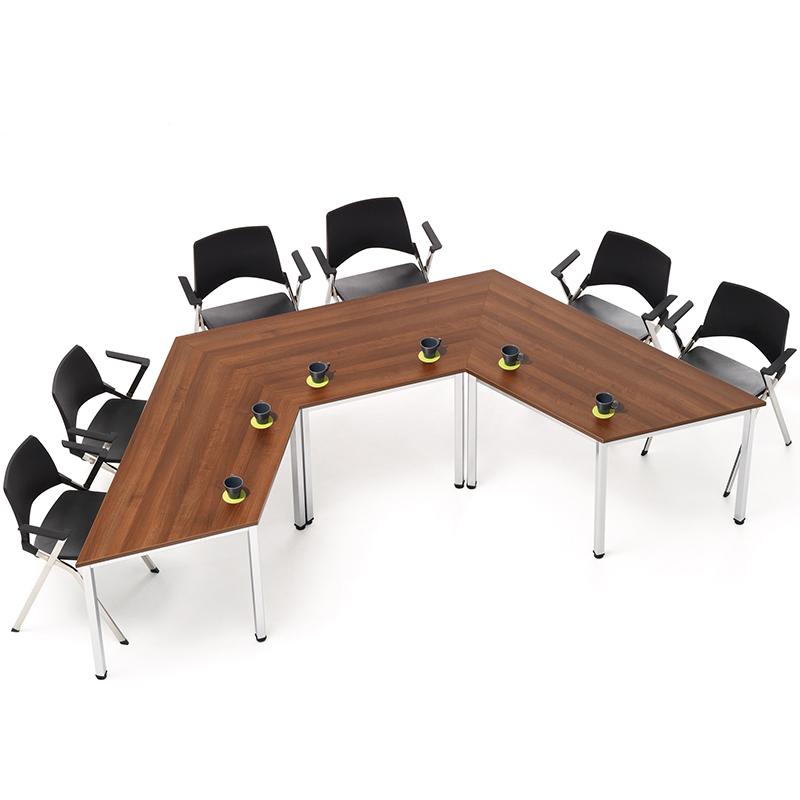 Metro Trapezium Shaped Meeting Table Hsi Office