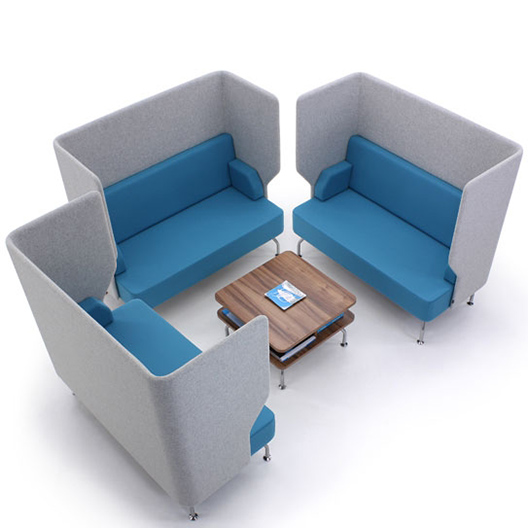 Verco Brix Up Single Booth Brx21 Hsi Office Furniture