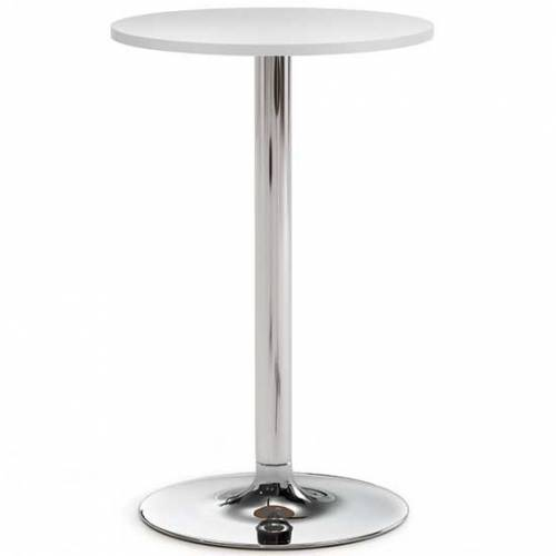 Benny high meeting table with pedestal base