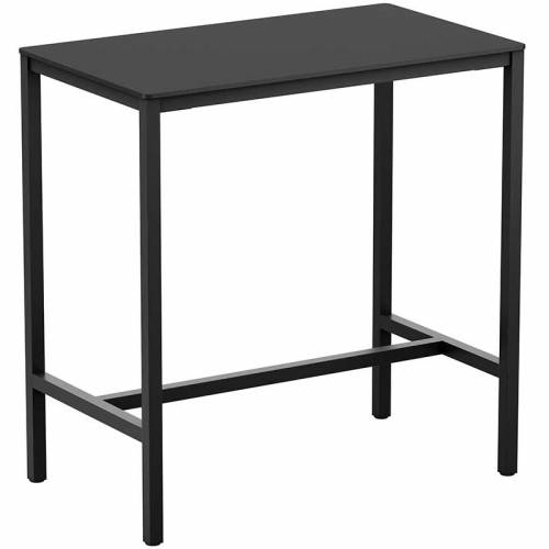 Extrema anthracite bar table