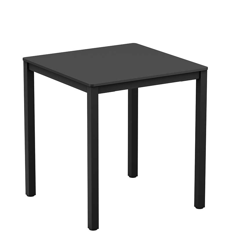 Black Extrema square table