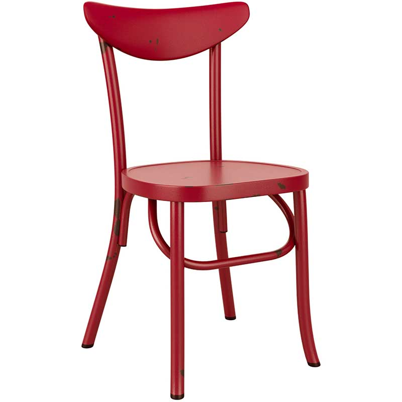 Breeze Retro chair - red