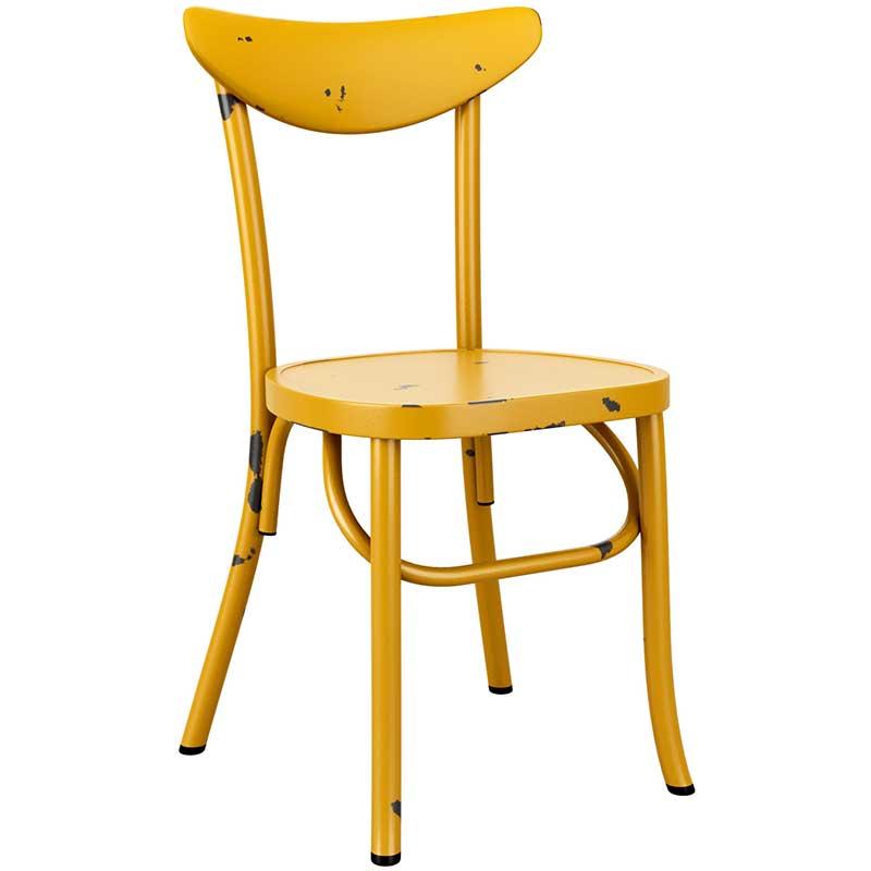 Breeze Retro chair - yellow
