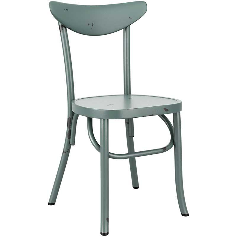 Breeze Retro chair - blue