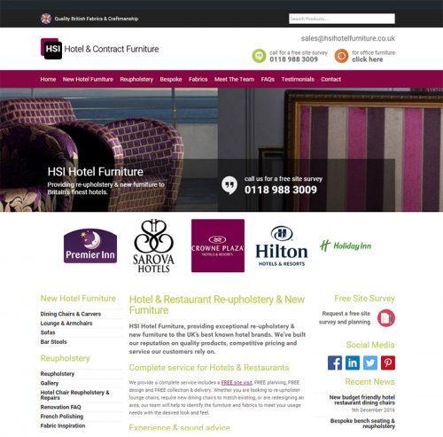 HSI hotel furniture website