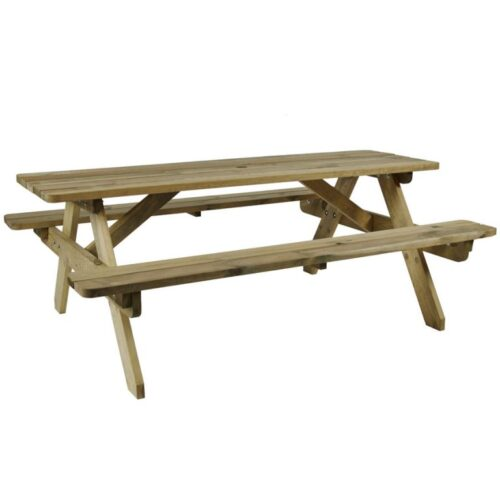 Hereford 6 seater picnic table