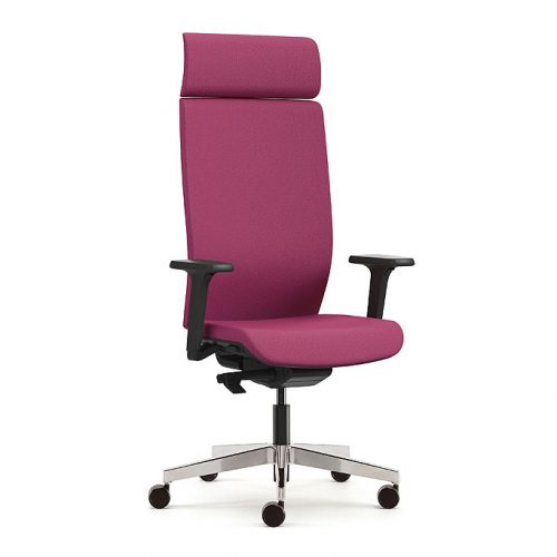Kind executive chair with headrest