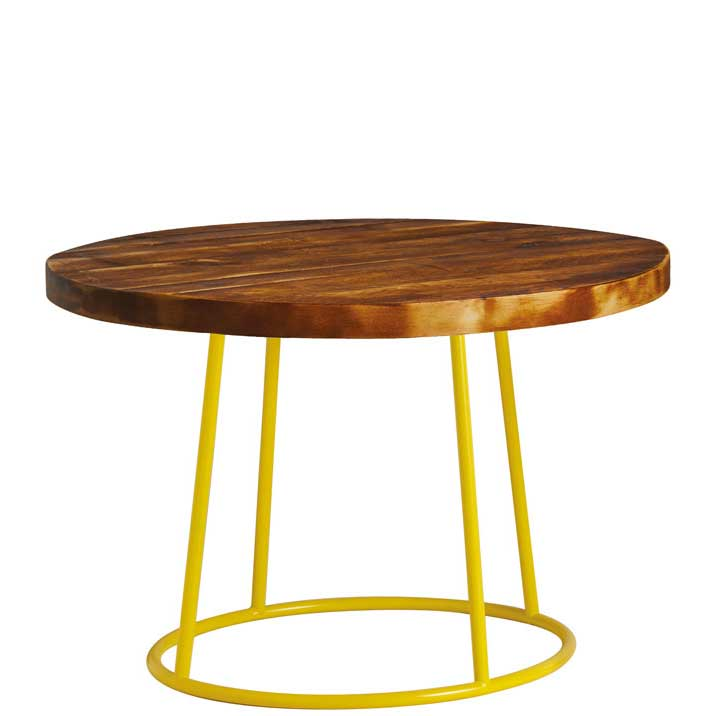 Max coffee table - yellow