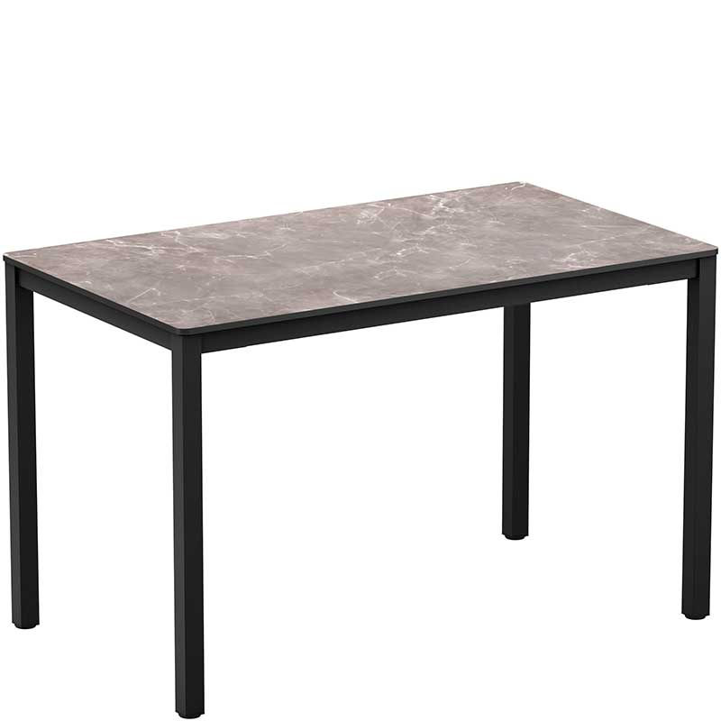 Extrema rectangle table - marble