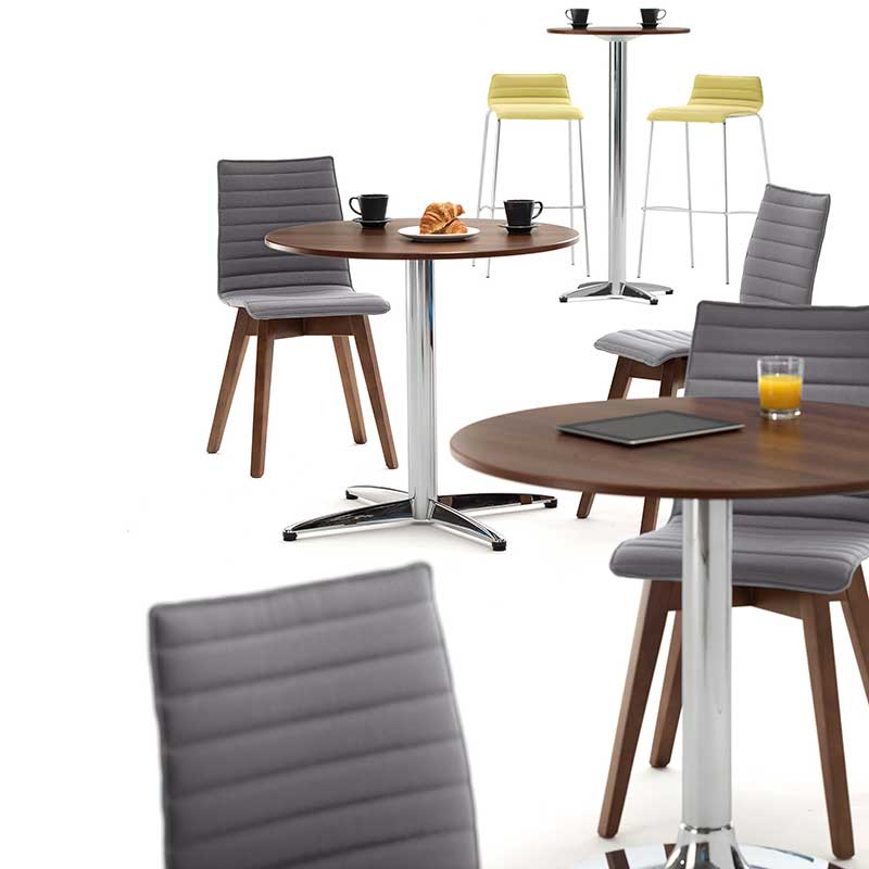 Bjorn bistro chair, stool & table range