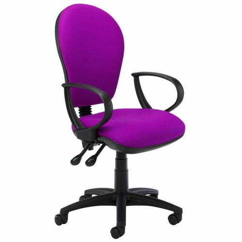 SCT506/22 D ring arm operator chair