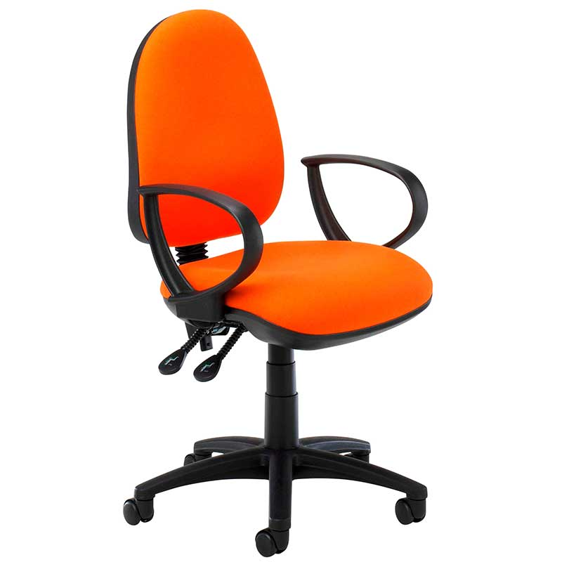 SCT506A - operator chair with ring arms