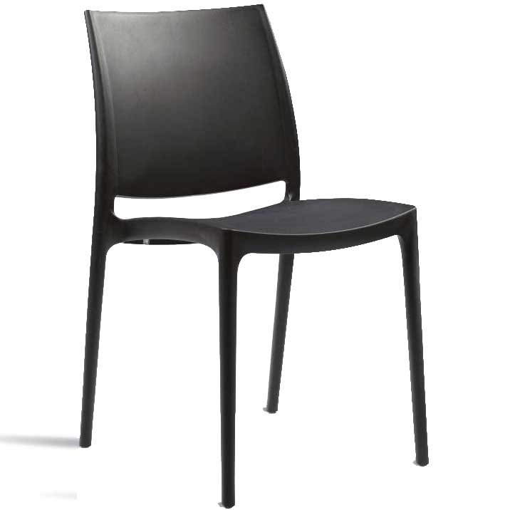 SPICE side chair - black