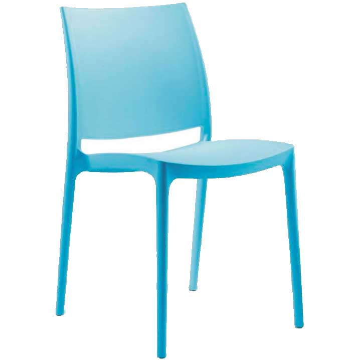 SPICE side chair - blue