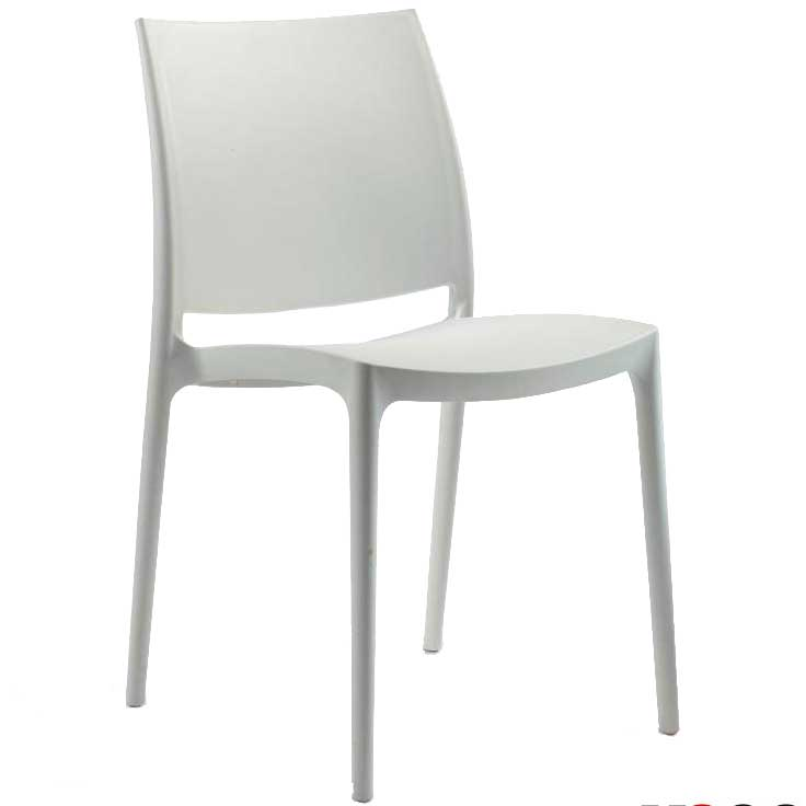 SPICE side chair - white