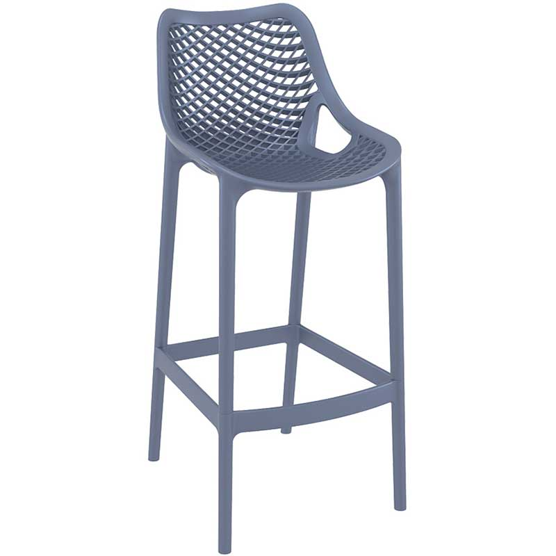 SPRING Bar Stool - anthracite