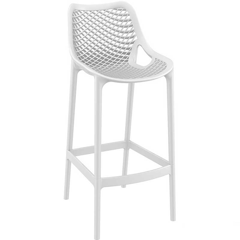 SPRING Bar Stool White
