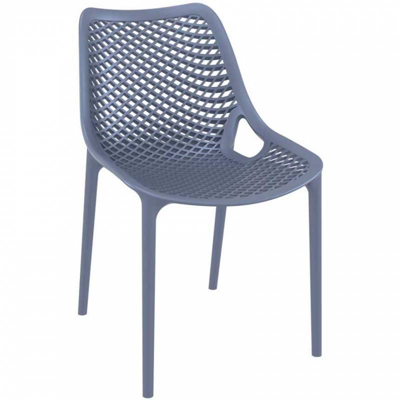Spring anthracite chair