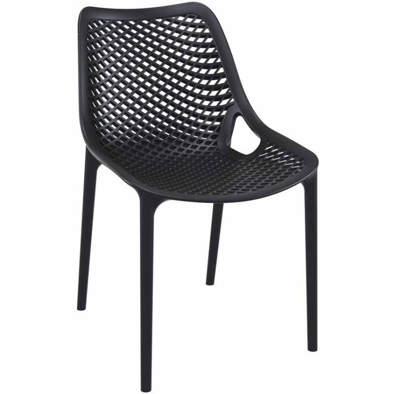 Spring black chair