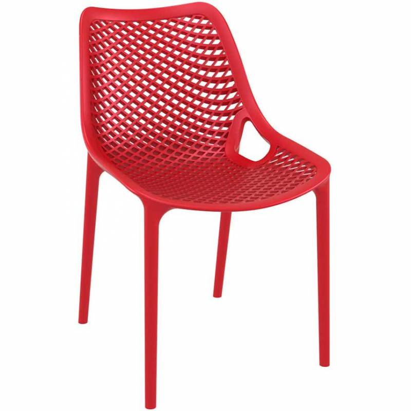 Spring red chair