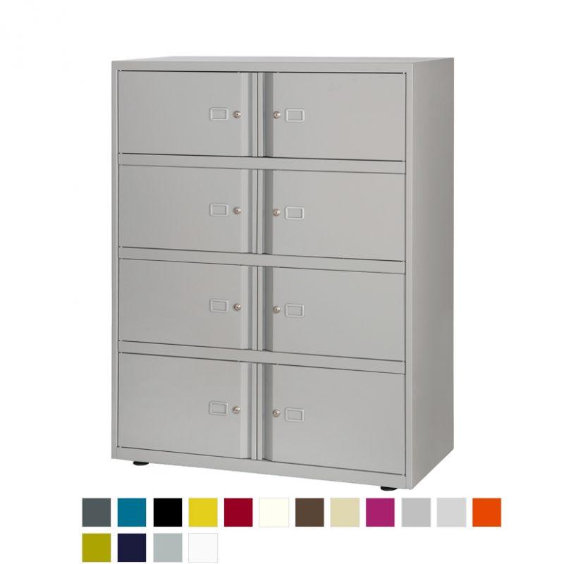 SystemFile SYL1040ls3ja 8 door locker