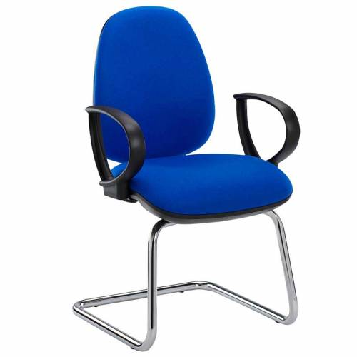 Summit ergonomic operator meeting chair ring arms