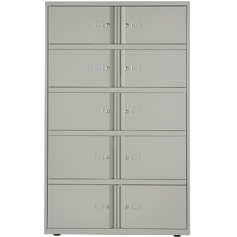 SystemFile Lodge - 10 doors grey