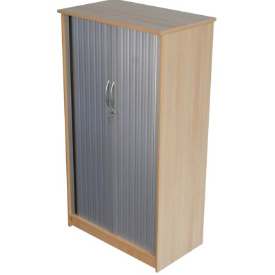 Quality large tambour cupboard
