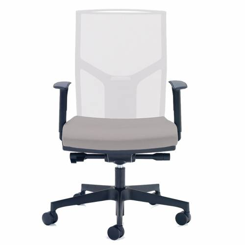 Aeon white mesh task chair