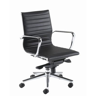 PSI Aria AM2 medium back leather task chair