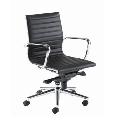 PSI Aria AM2 medium back leather task chair
