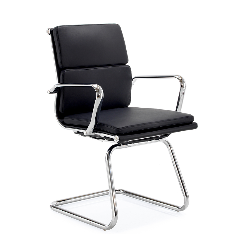 Aria C - leather cantilever meeting chair