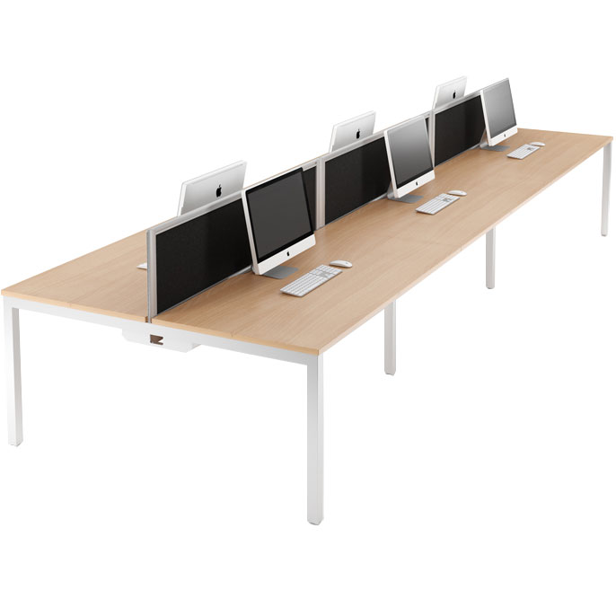 Relay bench desking system
