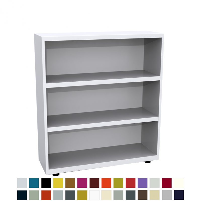 Bisley LateralFile bookcase - 900mm wide