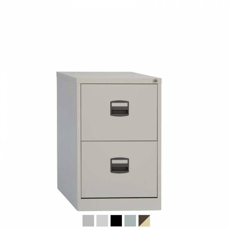 Bisley CC 2 drawer filing cabinet