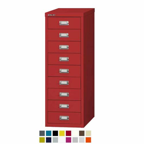 Bisley 9 drawer multidrawer