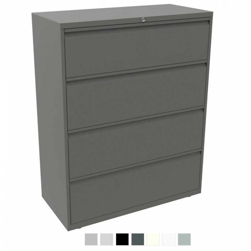 Bisley side filer - four-drawer