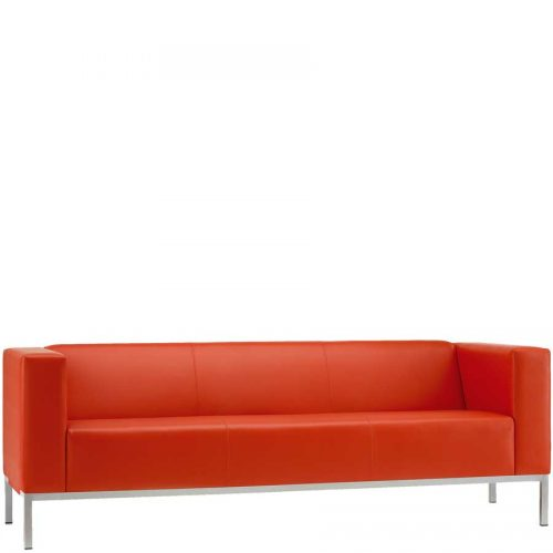 Box three seater sofa