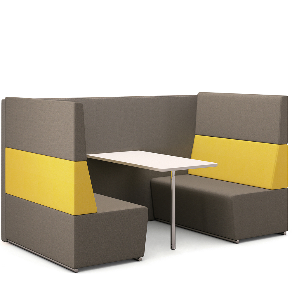 booth furniture four seat booth hsi office furniture london south east