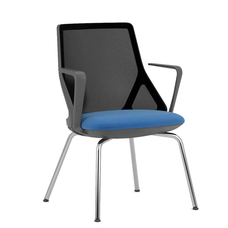 Cicero meeting chair with arms