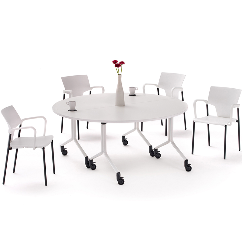 City folding flip-top tables