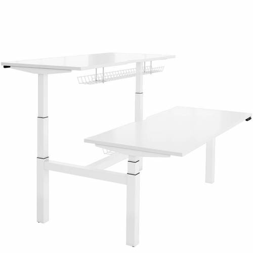 Cosine double electric sit stand desk