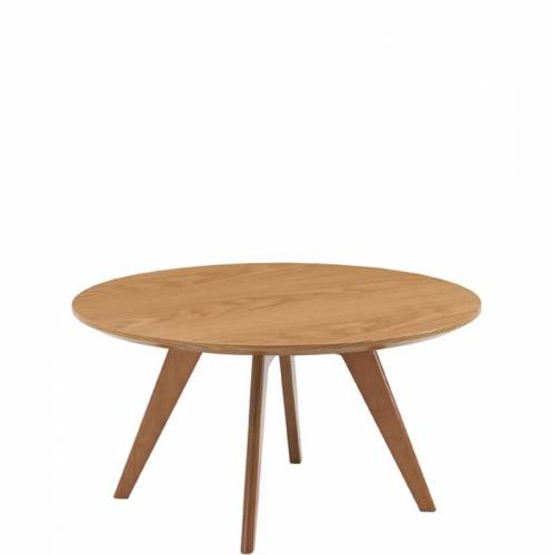 DNY3WL - Danny round wood coffee table