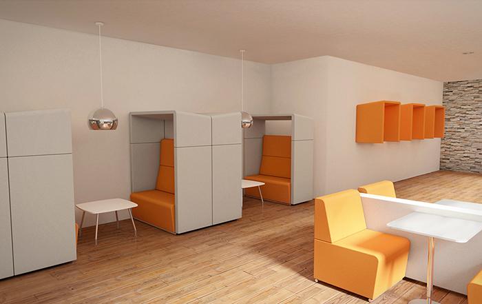Edge Design - Fifteen Environments meeting booths