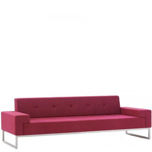 Edge design Hub 3 seater sofa