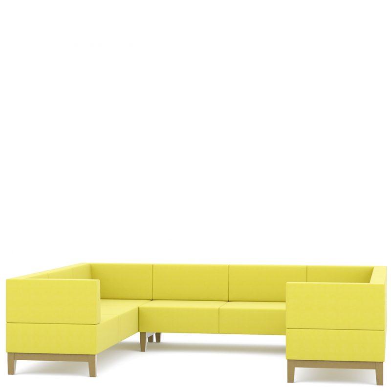 Corner sofa - Fence