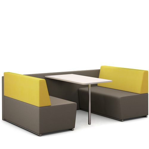 Fifteen Environments banquette seating